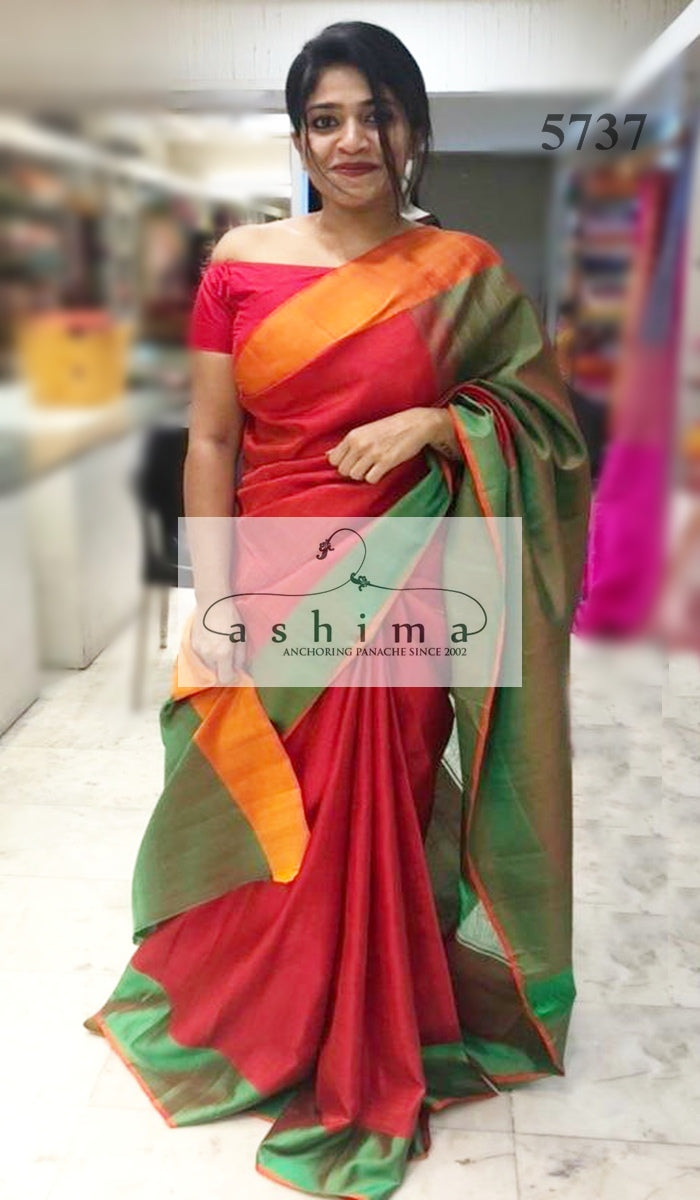 Kanchipuram soft silk saree 5737