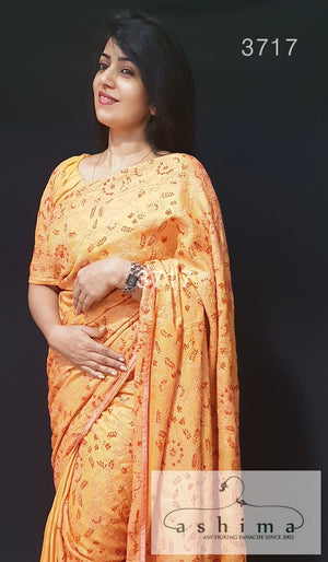 Tussar Silk Saree 3717