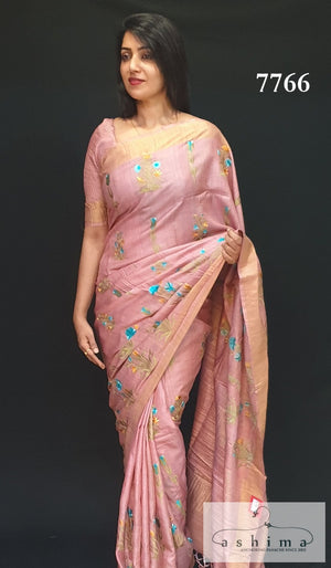 Tussar Silk saree 7766