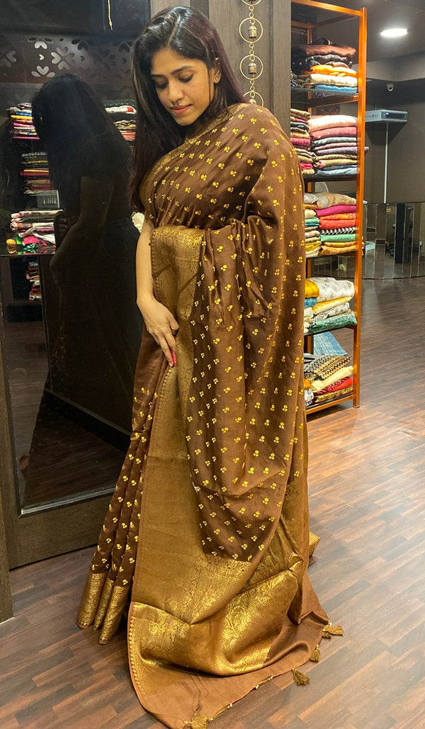 Chanderi saree 14364