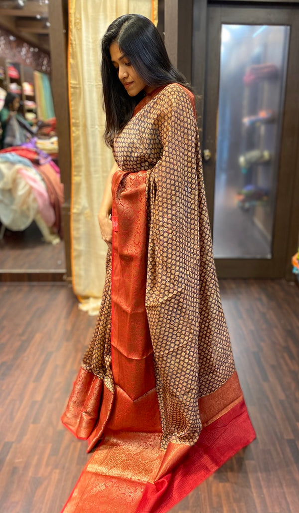 Chanderi saree  13790