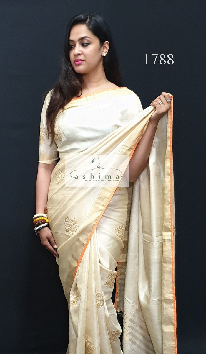 Tussar Silk saree 1788