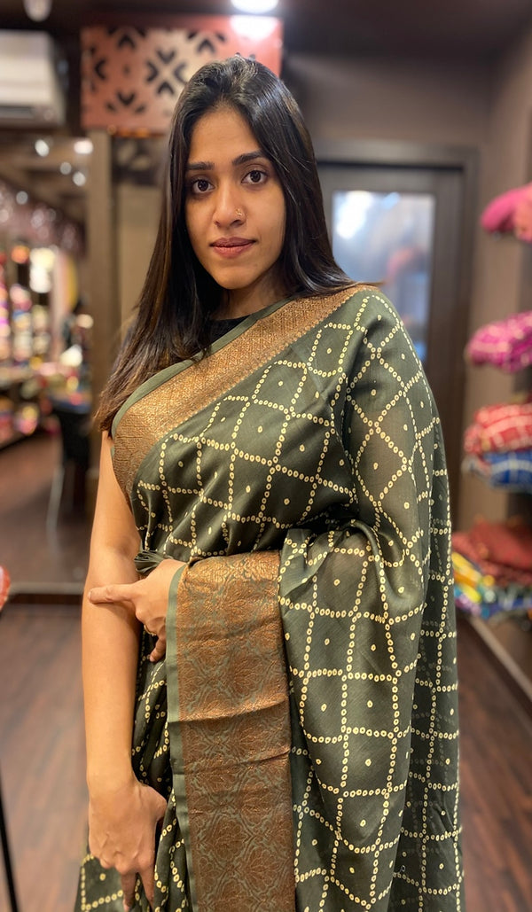 Chanderi saree 13436