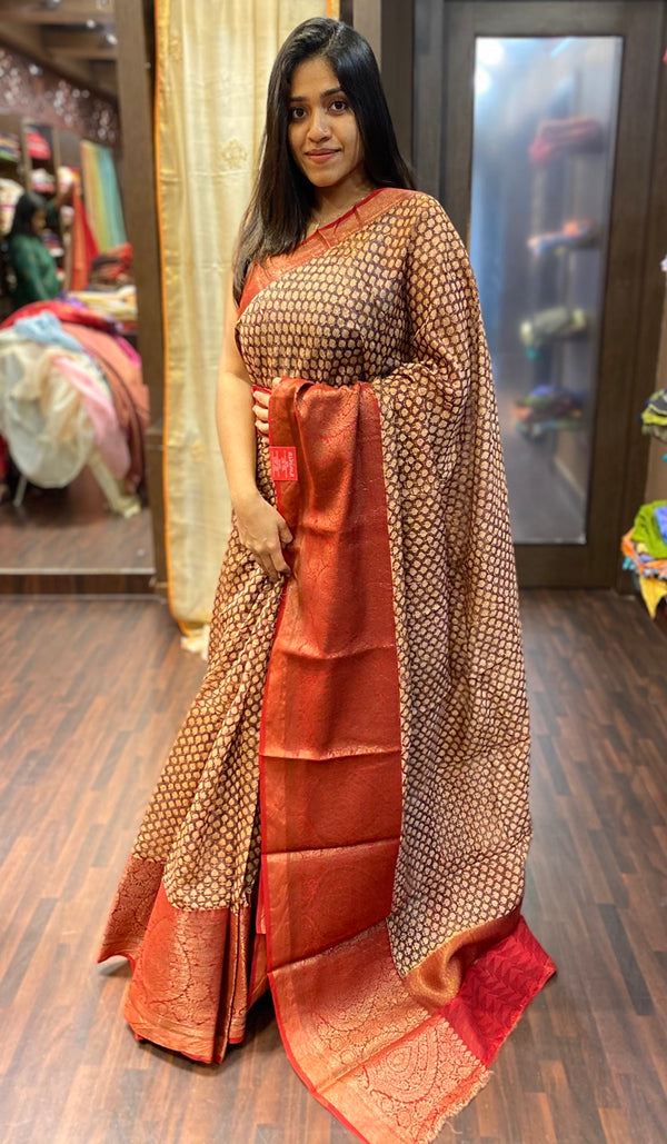 Chanderi saree  13789