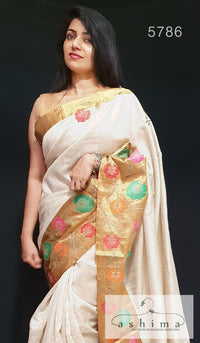 Linen Silk Saree 5786