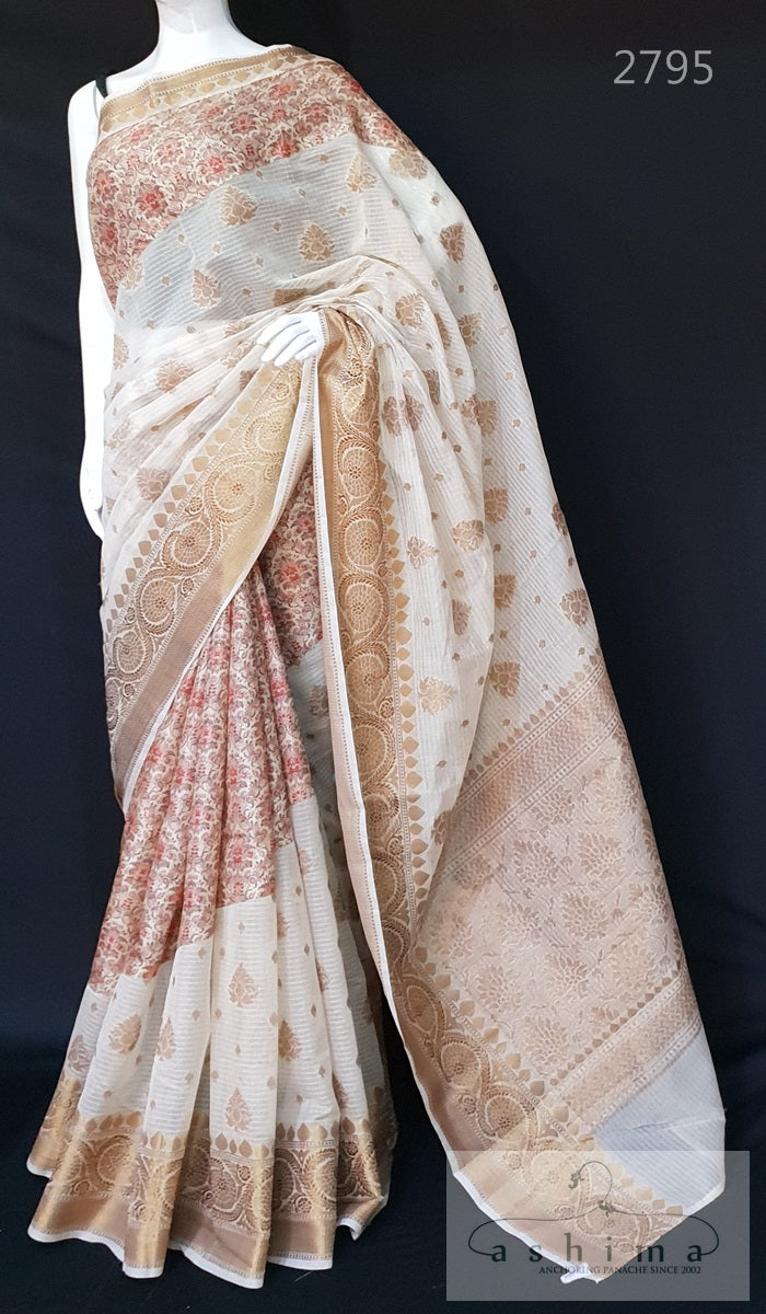 Semi Banarasi Saree 2795