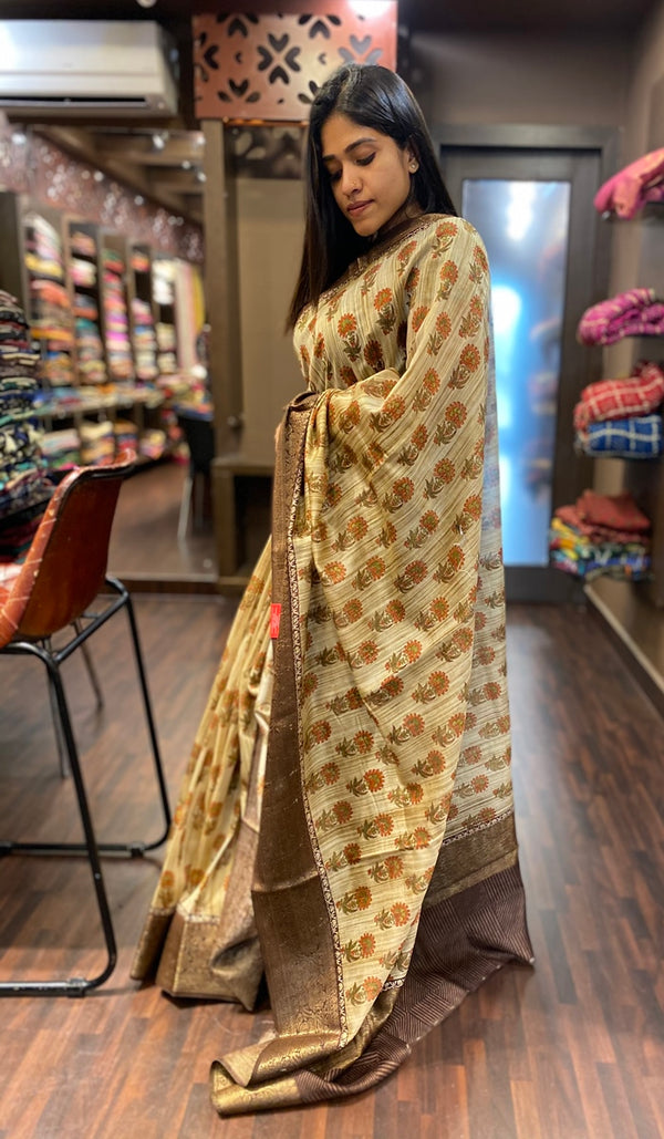 Chanderi saree 13441