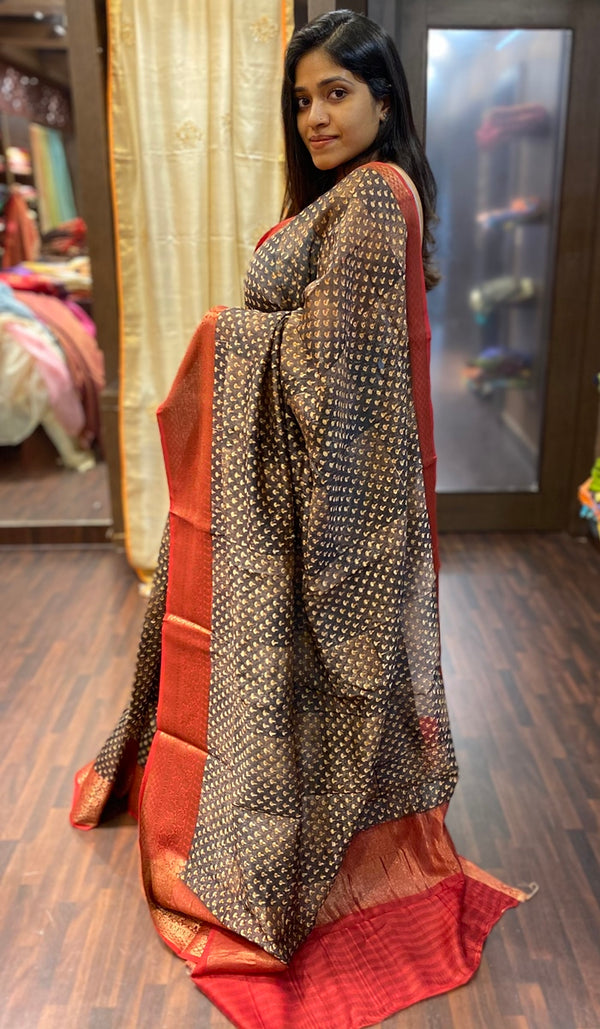 Chanderi saree  13788