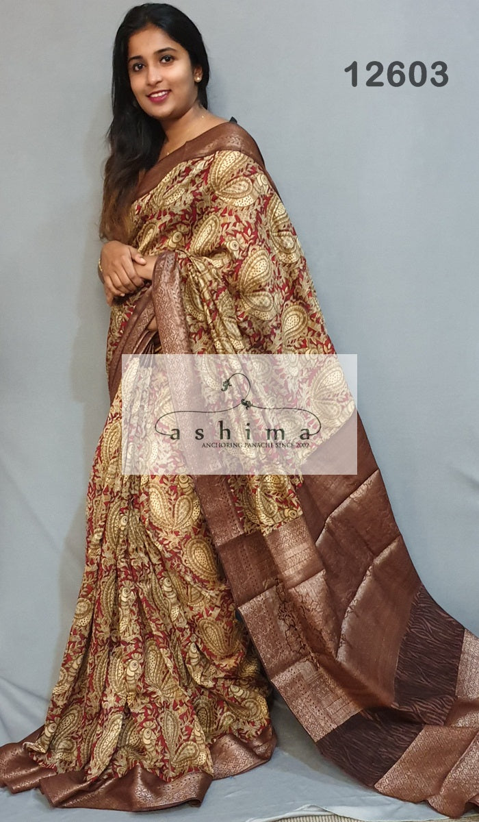 Chanderi Saree 12603