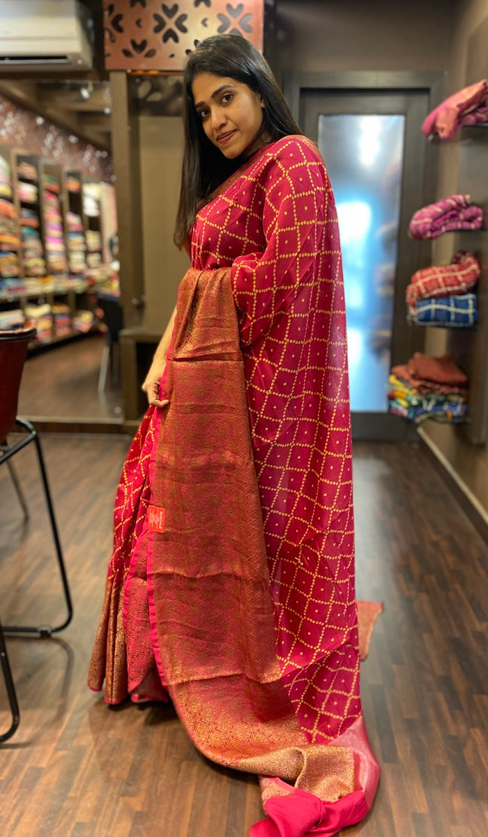 Chanderi saree 13437