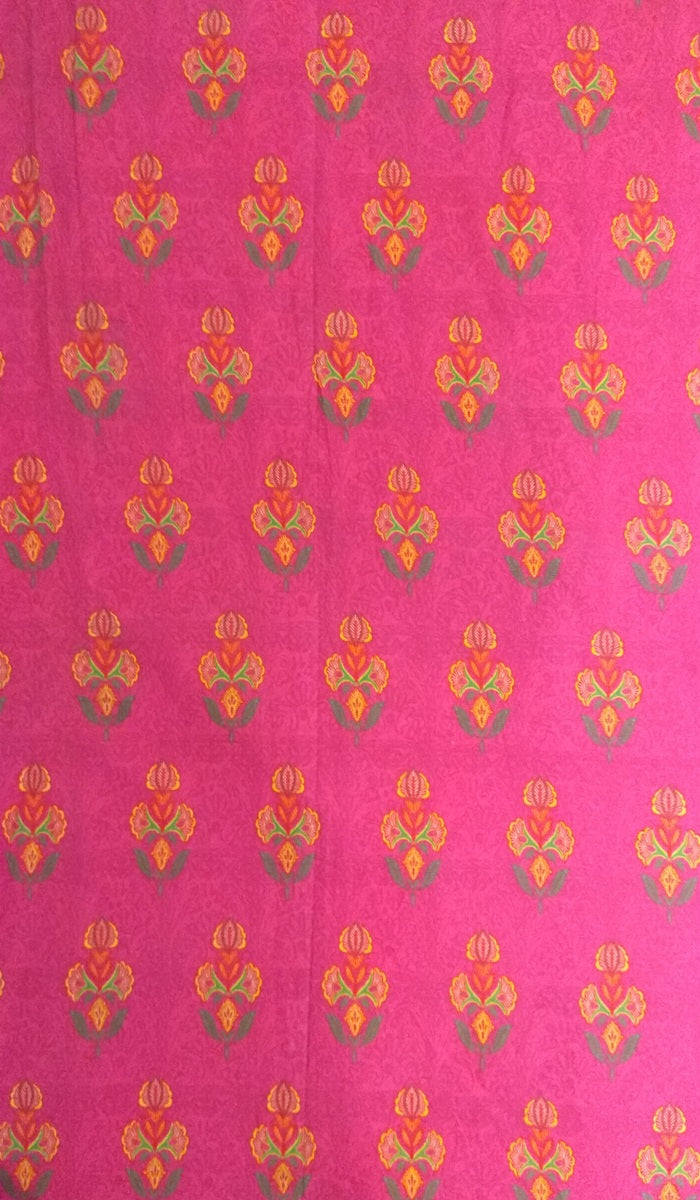 Printed Cotton Fabric FBK019