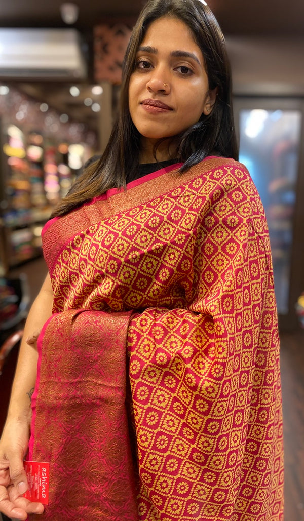 Chanderi saree 13443