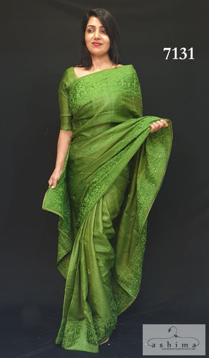 Tussar Silk Saree 7131