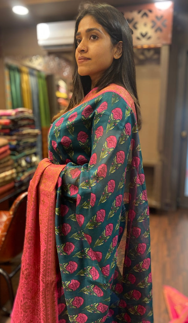Chanderi saree 13448