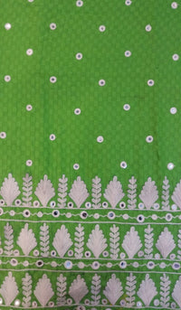 Embroidered Cotton Fabric DKE0021