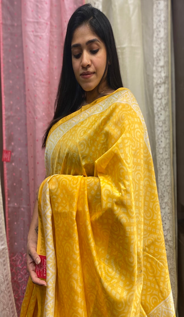 Chanderi saree 14267