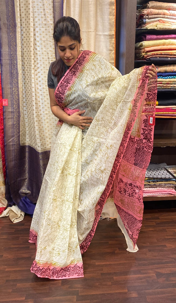 Cotton saree 14504