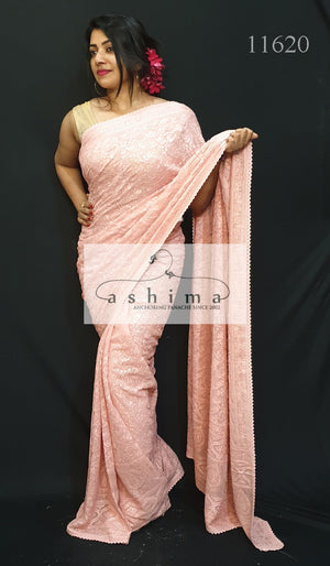 Georgette Saree 11620