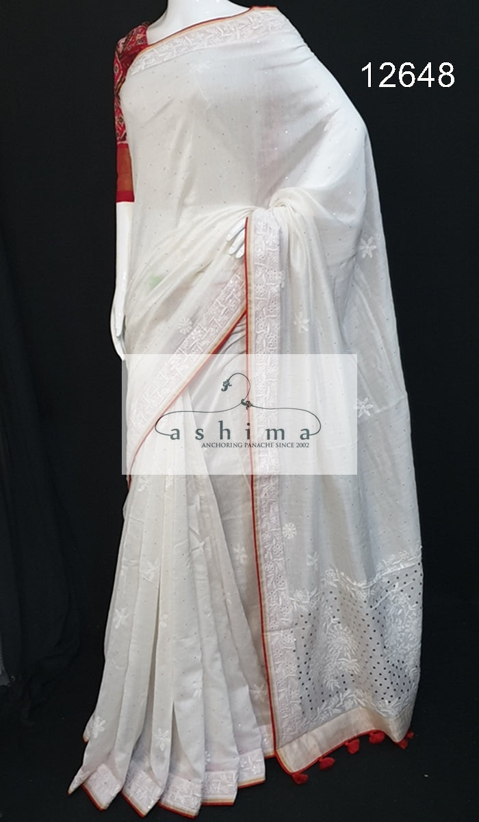Silk saree 12648
