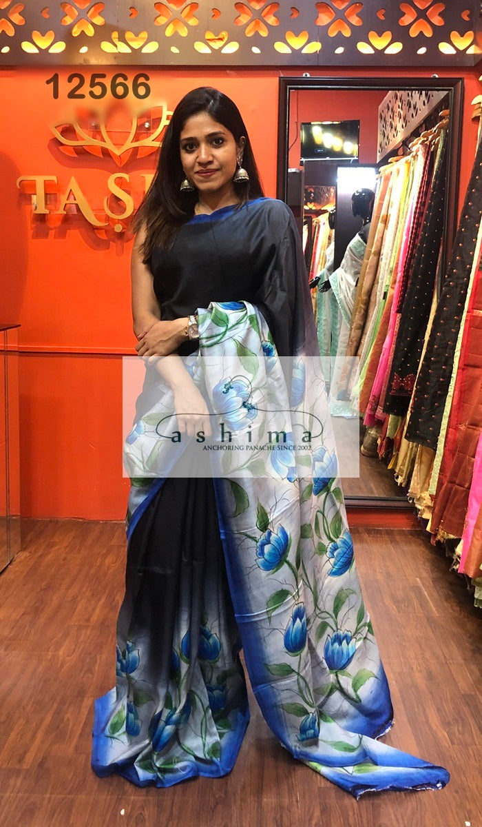 Tussar silk saree 12566