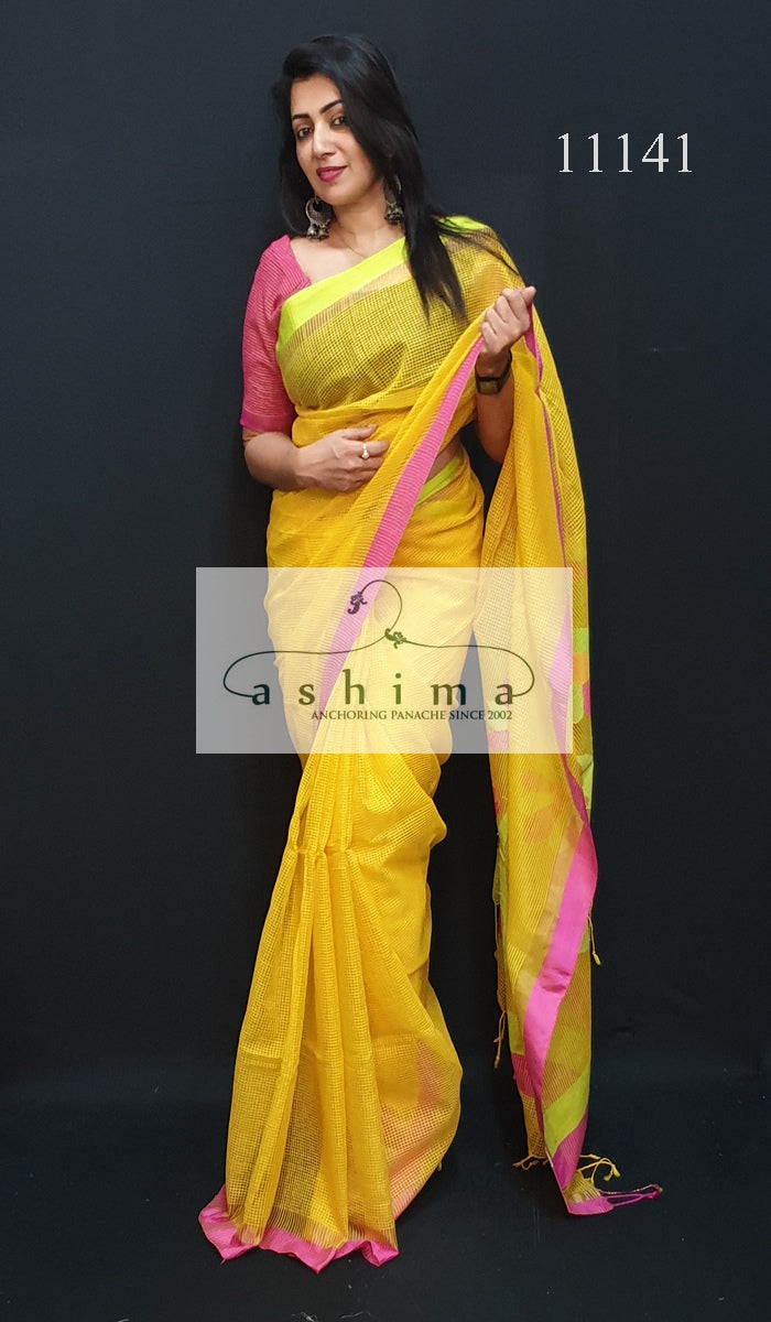 Fancy handloom saree 11141