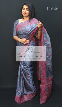 Tussar Silk Saree 11646