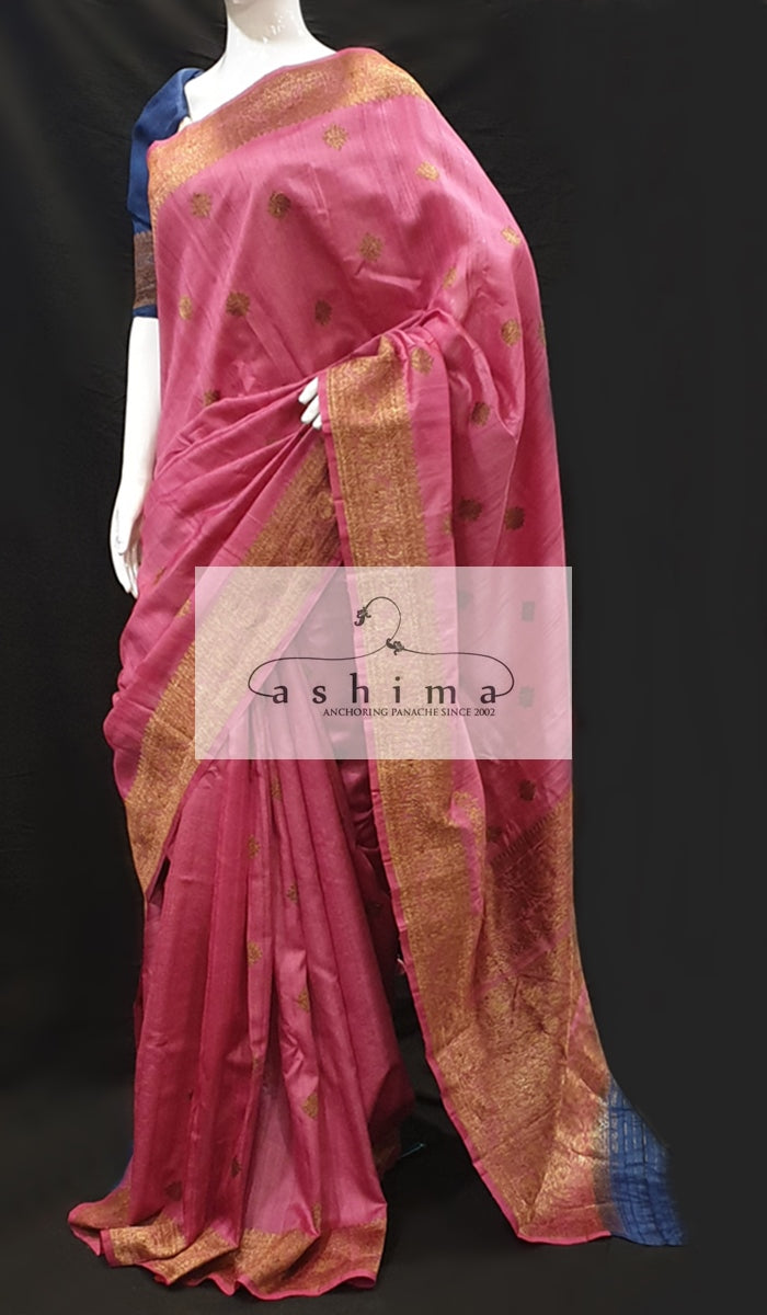 Tussar silk saree 12824