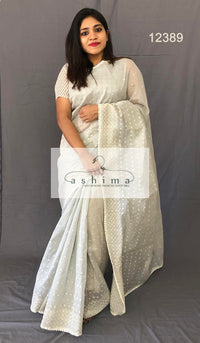 Chanderi saree 12389