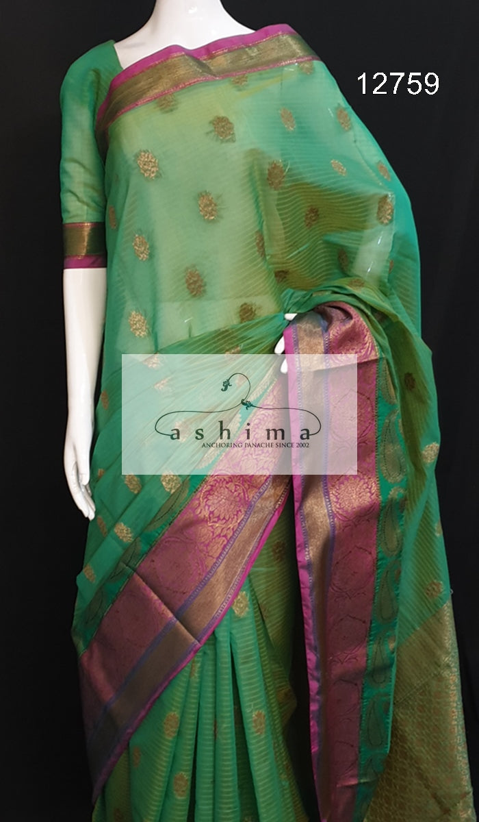Semi Banarasi saree 12759