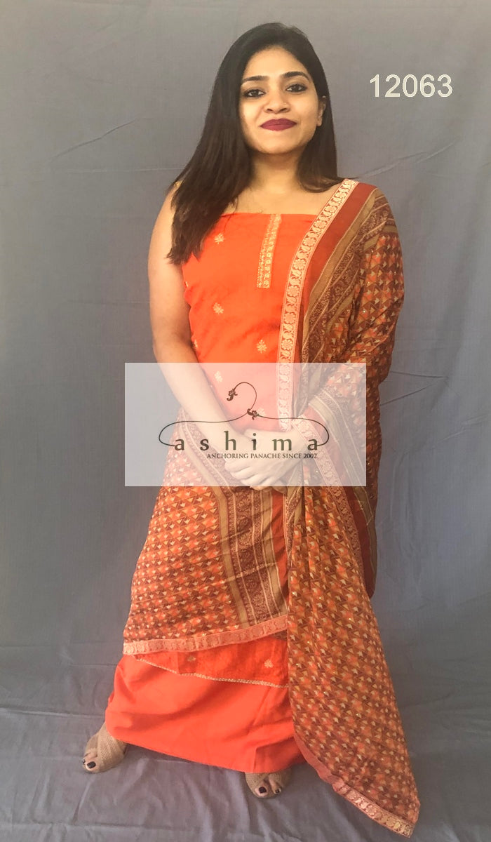 Unstitched salwar suit 12063