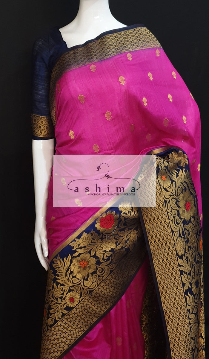 Semi banarasi saree 8123