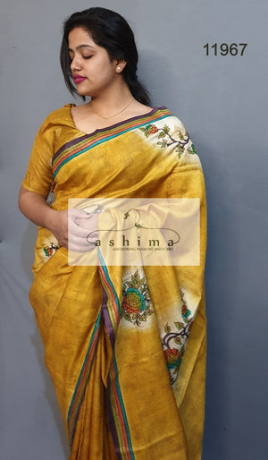 Tussar silk saree 11969