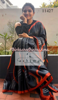 Tussar Silk Saree 11427