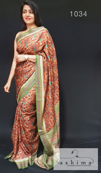 Tussar Silk Saree 1034