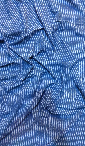 Indigo Cotton Fabric FBK64