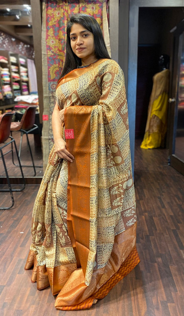 Chanderi saree 13817