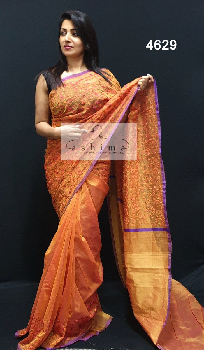 Embroidered Kota Saree 4629