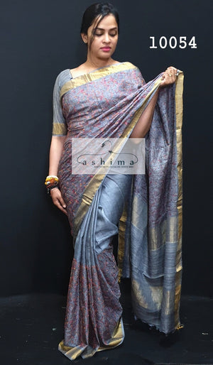 Tussar Silk Saree 10054