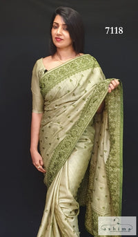 Tussar Silk Saree 7118