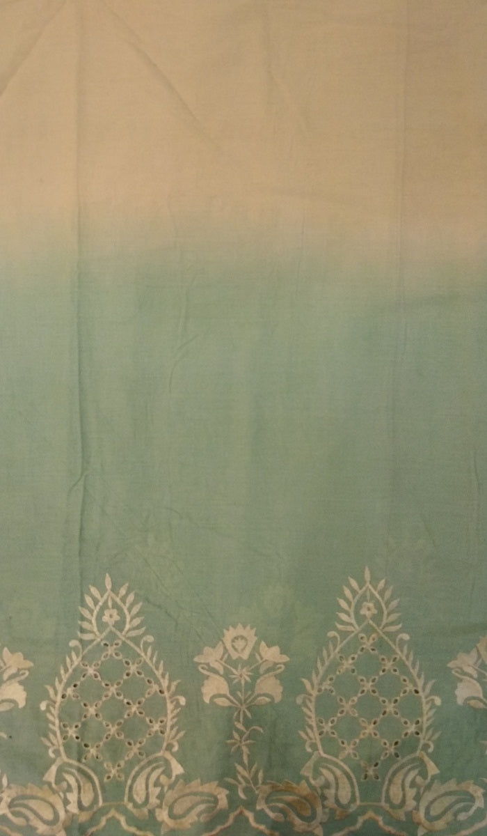 Embroidered Cotton Fabric DKE0002