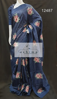 Tussar silk saree 12487