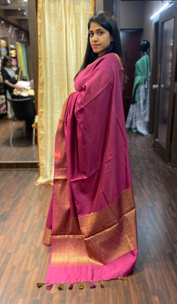 Chanderi saree 13804