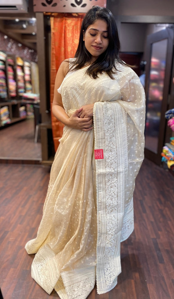 Tussar silk saree 13530