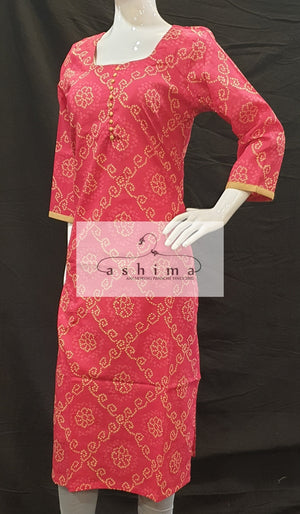 Cotton Kurti - Medium- Kurti63