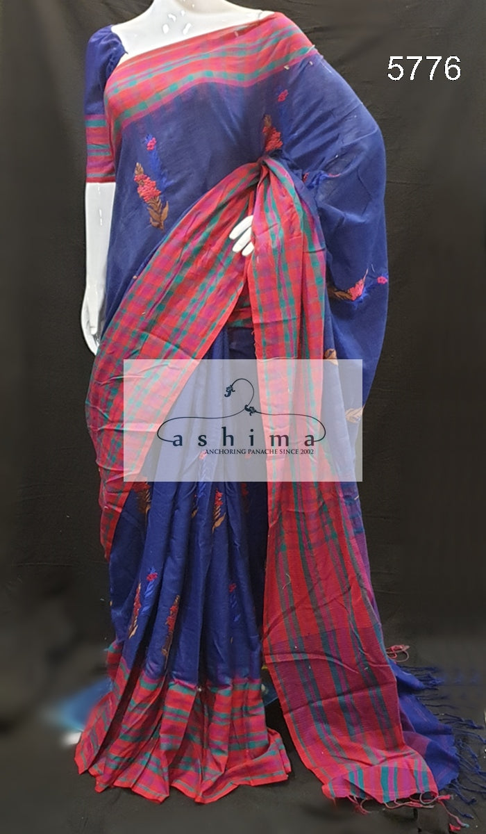 Handloom cotton saree 5776