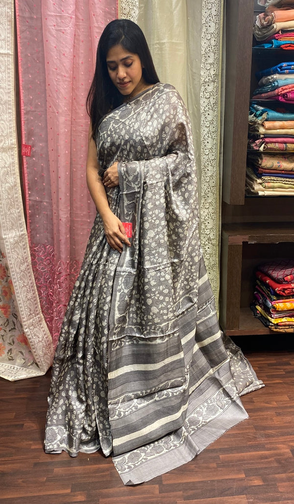 Tussar silk saree 14251