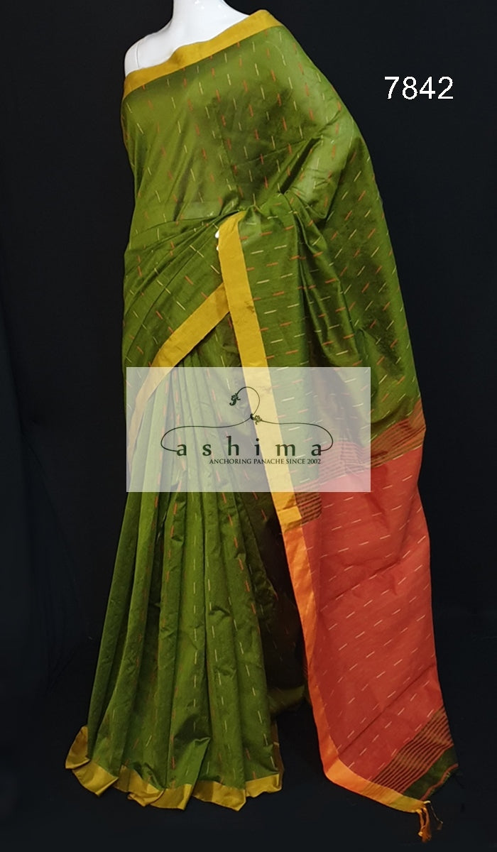 Semi silk saree 7842