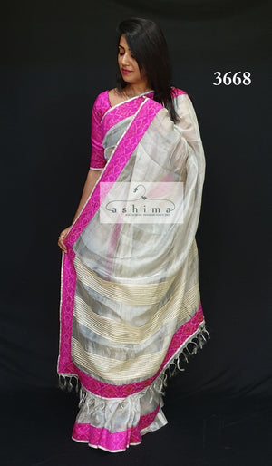 Tissue Saree 3668