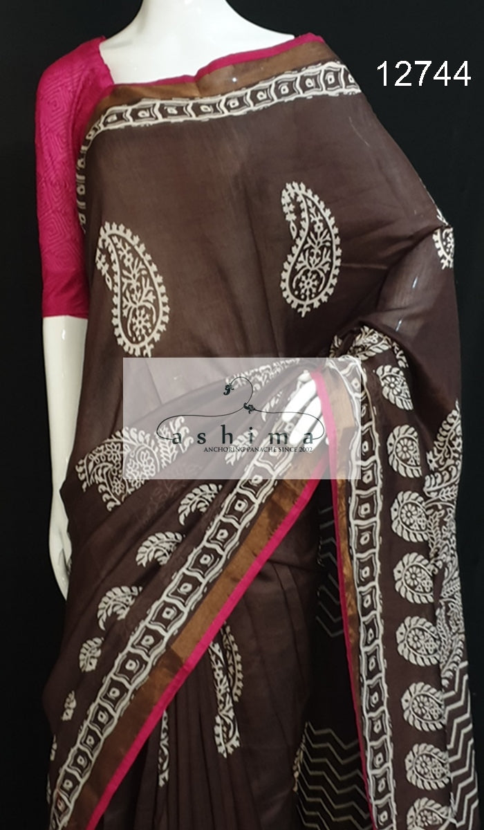 Chanderi Saree 12744