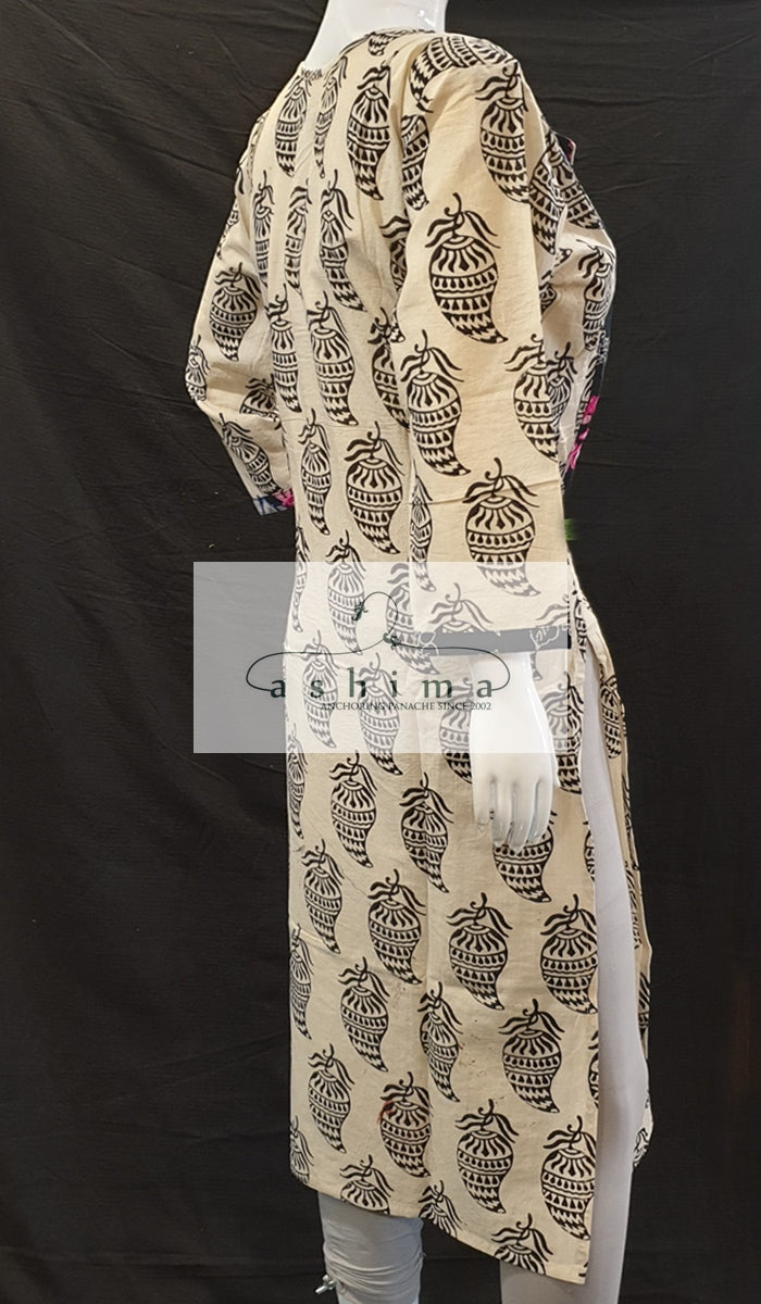 Cotton Kurti- Large- Kurti 78